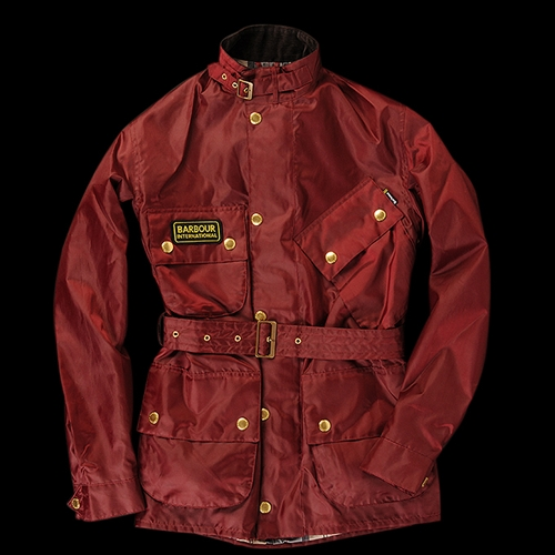UNIONMADE Barbour A7 Brass in Burgundy