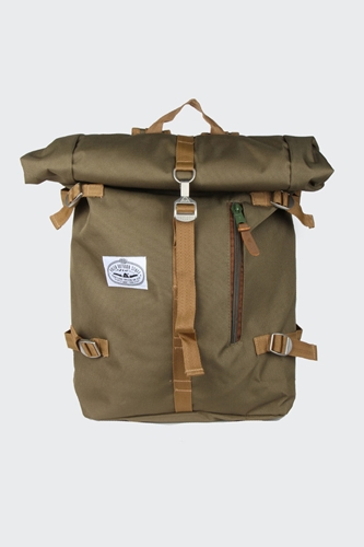 Good As Gold Online Clothing Store Mens Womens Fashion Streetwear Nz Roll Top Backpack Olive