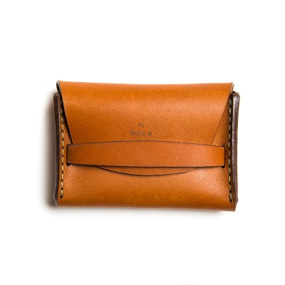 Makr Flap Leather Wallet Saddle Tan Www.Atoo.Co.Uk