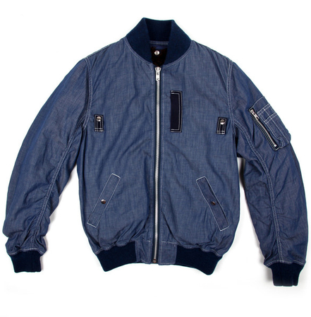 Sacai Indigo MA 1 Jacket buy online Union Los Angeles