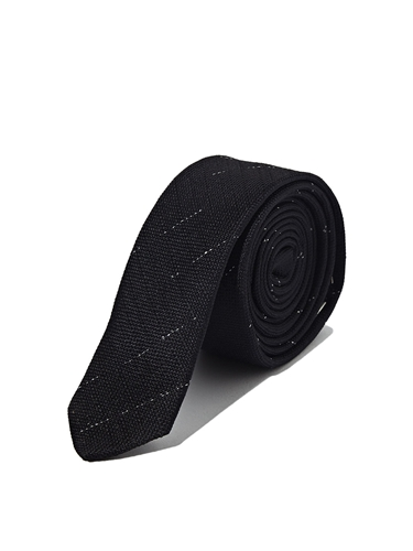 Saint Laurent Mens Silk Skinny Tie Ln Cc