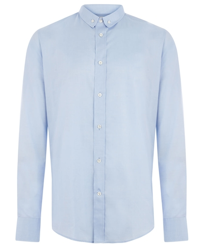 Light Blue Slim Fitting Shirt Maison Martin Margiela Shop more shirts from the Maison Martin Margiela Men s collection online at Liberty co uk