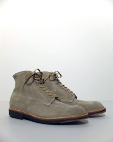 Milkshake Suede Indy Work Boot by Alden available to buy at The Bureau Belfast