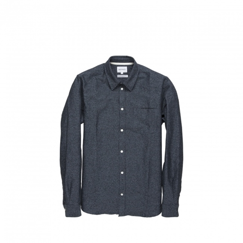 Norse Projects Anton Speckled Flannel Shirt Norse Projects
