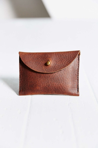 Forest Bound X Urban Renewal Elliot Leather Wallet Urban Outfitters