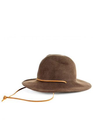 GOOD AS GOLD BRIXTON tiller hat olive felt