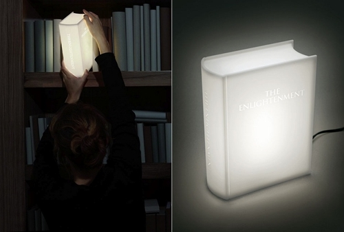 Enlightenment Book Lamp