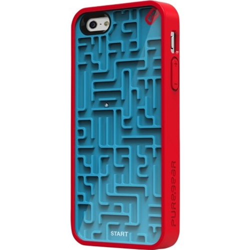 Amazon.Com Puregear Gamer Case For Apple Iphone 5 Retail Packaging Blue Red Cell Phones Accessories