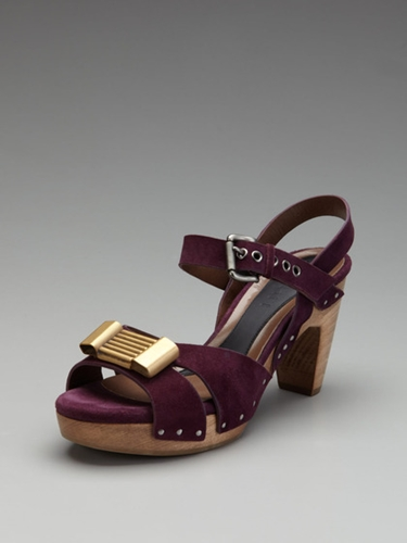 Metal Bow Sandal by Marni up to 60 off at Gilt