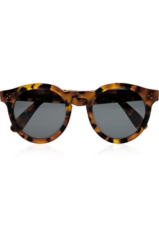 Illesteva Dasha for Illesteva Leonard round frame acetate sunglasses NET A PORTER COM