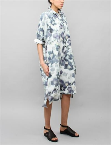 Creatures Of Comfort Tomlin Dress Floral Blue