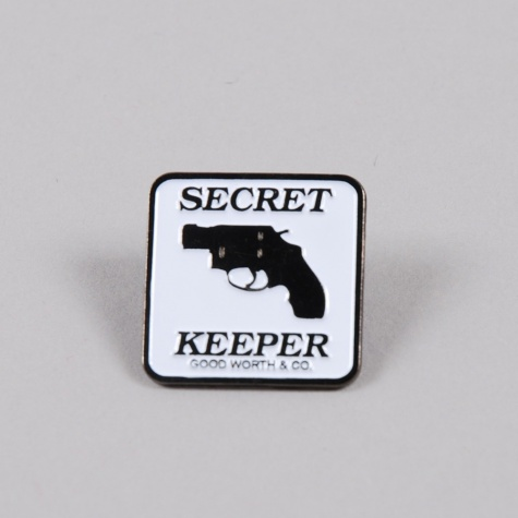 Good Worth Secret Keeper Pin