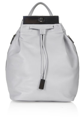 Premium Leather Plated Backpack New In This Week New In Topshop Europe