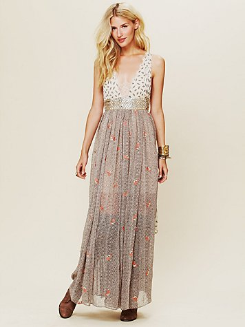 Free People FP New Romantics Pennies From Heaven Dress at Free People Clothing Boutique