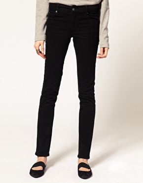 Cheap Monday Cheap Monday Tight Mid Waist Skinny Jeans at ASOS