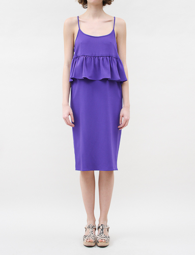 Creatures Of Comfort Nora Dress Violet