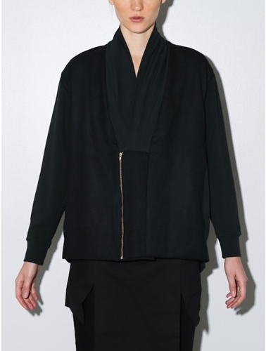 House Of 950 The Cardigan Black Oak