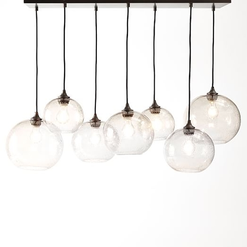 Glass Orb Chandelier Luster West Elm