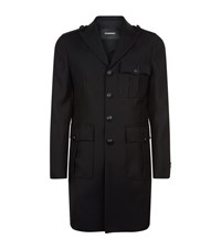 Dsquared2 Military Jacket Male Black