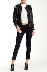 Level 99 Lilly Cropped Skinny And Straight Jean Black