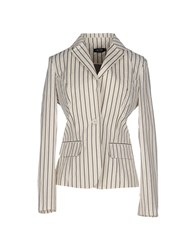 Amy Gee Suits And Jackets Blazers Women Ivory
