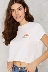 Nasty Gal The Laundry Room Lil' Pizza Crop Tee