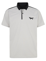Wolsey Welded Regular Fit Polo Shirt Smoke