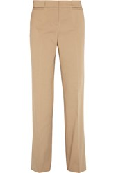 Tory Burch Callie Stretch Cotton Blend Wide Leg Pants