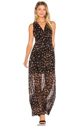 Bcbgeneration Surplice Maxi Dress Black