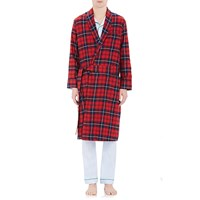 Sleepy Jones Glenn Long Robe Red