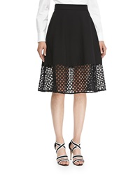 Lela Rose Lace Hem Skirt