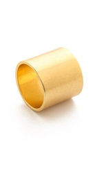 Madewell Wash Band Ring Shiny Gold