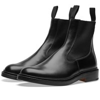 Tricker's End. X Stephen Chelsea Boot Black