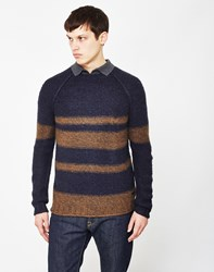 Only And Sons Callan Knitted Jumper Navy
