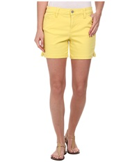 Calvin Klein Jeans Five Pocket Colour Short Tender Yellow Women's Shorts