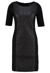 Taifun Jumper Dress Schwarz Black