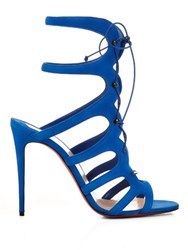 Christian Louboutin Amazoulo 100Mm Sandals Blue
