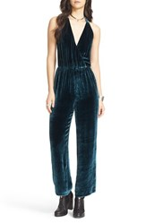 Free People Women's Velvet Jumpsuit