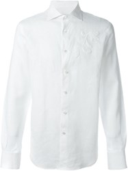 Ermanno Scervino Embroidered Shirt White