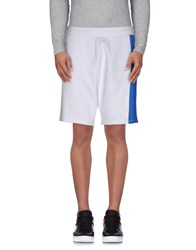 Bikkembergs Trousers Bermuda Shorts Men White