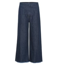 Citizens Of Humanity Palazzo Wide Leg Denim Trousers Blue