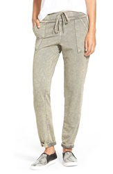 Mineral Wash French Terry Jogger Pants Nordstrom Exclusive Green