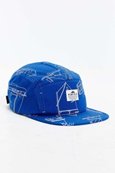 Penfield Casper 5 Panel Hat Blue