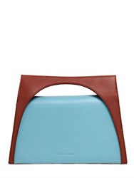 J.W.Anderson Moon Two Tone Leather Top Handle Bag