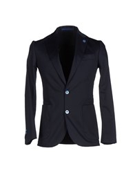Havana And Co. Suits And Jackets Blazers Men Dark Blue