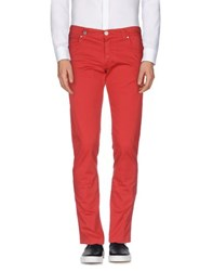 Nicwave Trousers Casual Trousers Men Red