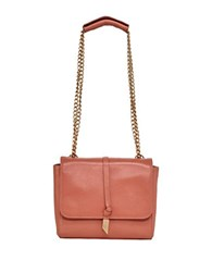 Foley Corinna Diane Leather Shoulder Bag Toasted Peach
