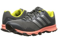 Adidas Duramo 7 Trail Dark Grey Heather Solid Grey Silver Metallic Charcoal Solid Grey Women's Running Shoes Black