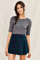 Urban Renewal Recycled Cropped Wool Mini Skirt