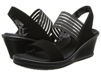 Skechers Rumblers Sci Fi Black Women's Sandals